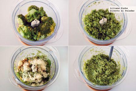 Falso pesto de brócoli