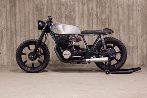 YAMAHA XS750 Cafe Racer 1977 by 654 Motors #motorcycles #caferacer #motos | caferacerpasion.com
