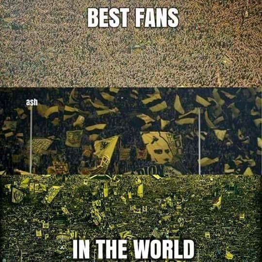 Świetna atmosfera, pełne trybuny, gorący doping • Oto najlepsi fani na świecie, czyli kibice Borussii Dortmund • Wejdź i zobacz >> #bvb #borussia #football #soccer #sports #pilkanozna #futbol