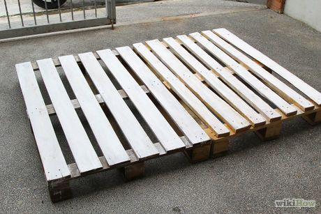 Make a Pallet Bed Frame                                                                                                                                                      More