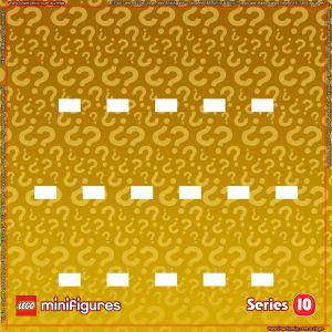 LEGO Minifigures Series 10 Background
