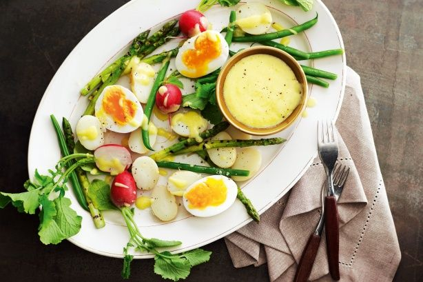 Le Grand Aoli - Mediterranean vege platter with Aoli