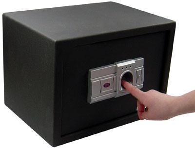 biometric fingerprint safe