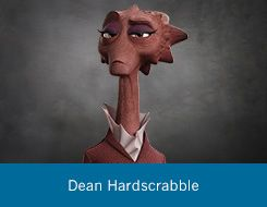 Dean Hardscrabble | Faculty | Monsters University