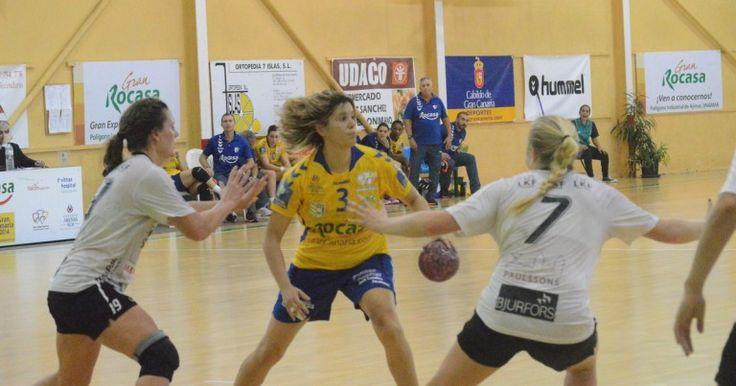 El Rocasa Gran Canaria se clasifica para los octavos de final de la Copa EHF