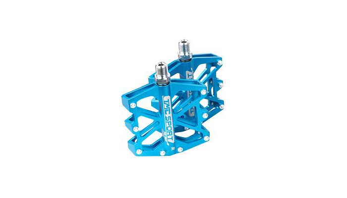 2 Pcs CNC Metal Simple Downhill MTB Pedals. Price: £19.76, available from DSStyles.