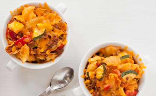 LUNCH: Epicure's Mexican Beef and Pasta Casserole (400 calories/serving)