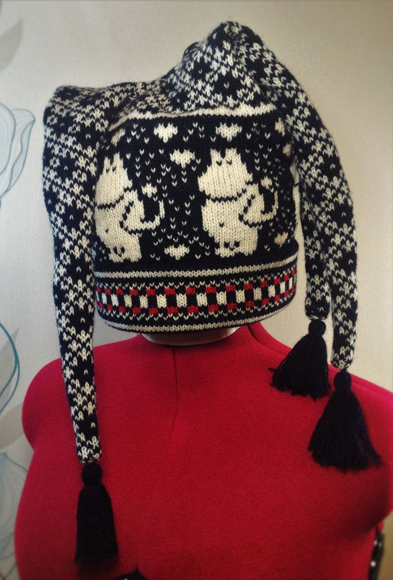 NEW  Wonderful hand-made winter hats with moomin by LanaNere