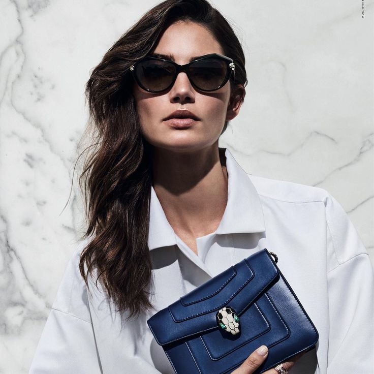 Eyes shaded by #LeGemme sunglasses and carrying a #Serpenti bag, #Bulgari Brand Ambassador @lilyaldridge exudes the passion that is at the heart of Italian glamour. #BulgariSunglasses #BulgariSpringSummer17 #LuxuryEyewear