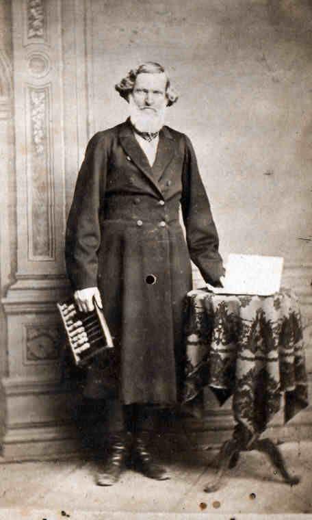 Этнографический обзор - Россия второй половины XIX века -Муромский купец. Неизвестный фотограф, 1860-е.