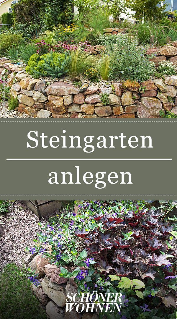 Steingarten anlegen – so geht's! – SCHÖNER WOHNEN