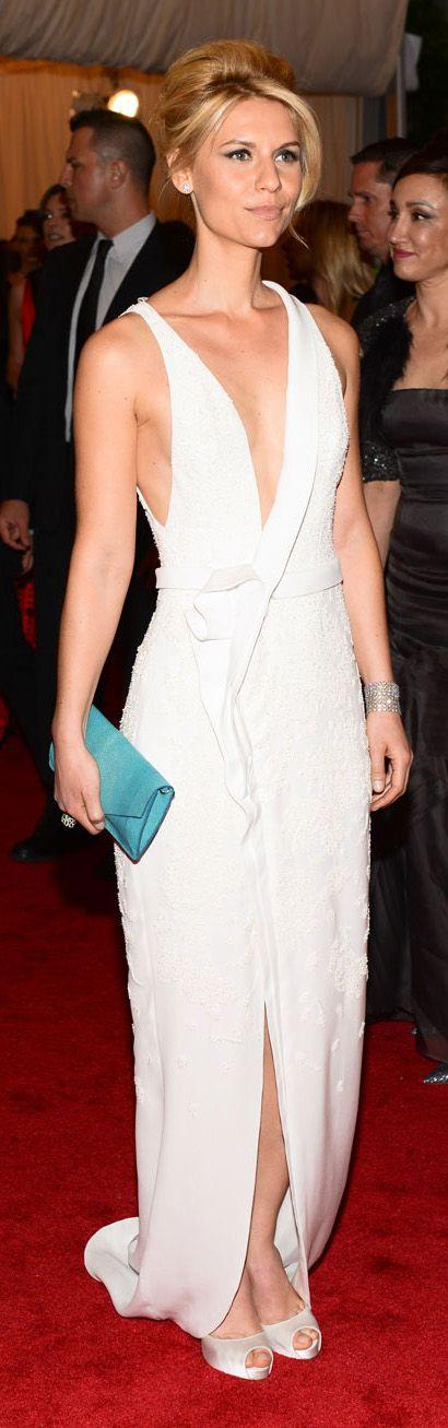 Claire Danes In J. Mendel at the 2012 Met Gala