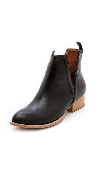 Jeffrey Campbell Muskrat Cutout Booties  So in love!!