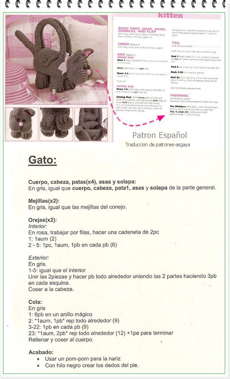 200 best Amigurimis Crochet images on Pinterest   Patrón libre ...