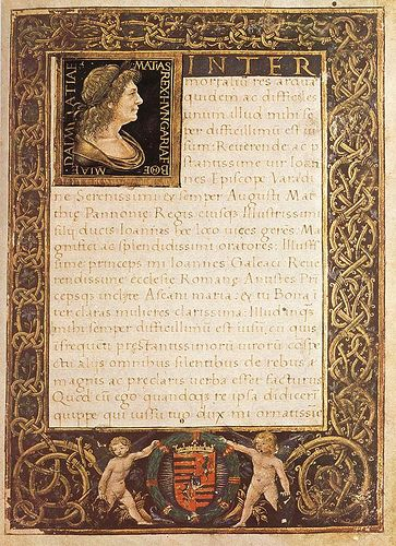 Marlianus Codex - Matthias Rex King of Hungary