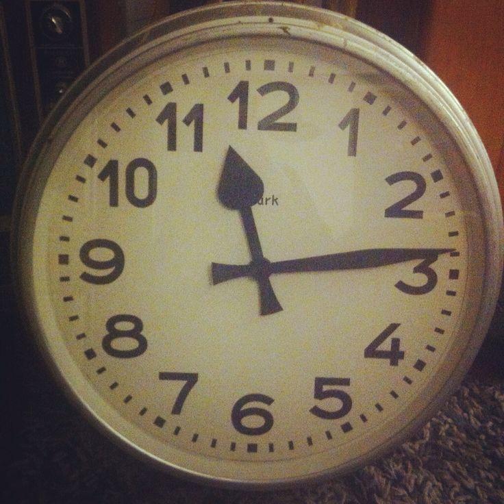 Gran reloj eléctrico alemán Burk años 50
