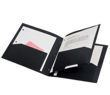 4 Pocket Poly Portfolio