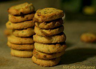 Ciasteczka cytrynowo-pistacjowe
