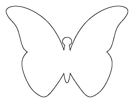 Image result for cut out of a butterfly template