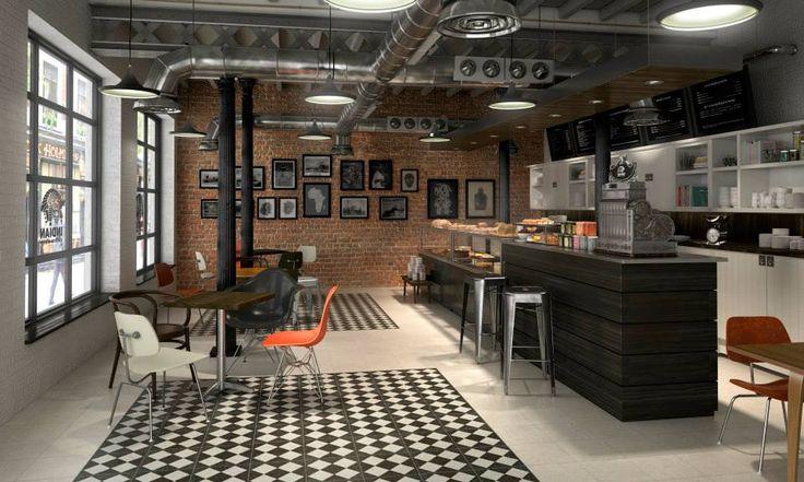 Terrazzo black decor hydraulic tiles black and white , Apavisa