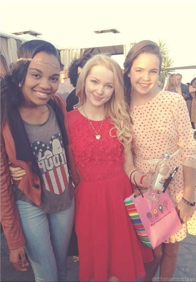 China Anne McClain, Dove Cameron And Bailee Madison Together At The Saving Spot Benefit