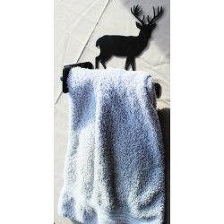 Deer Towel Rail