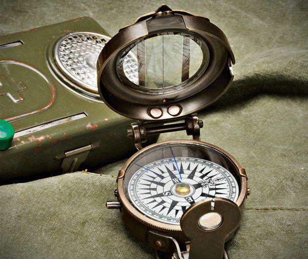 wosjkowy kompas