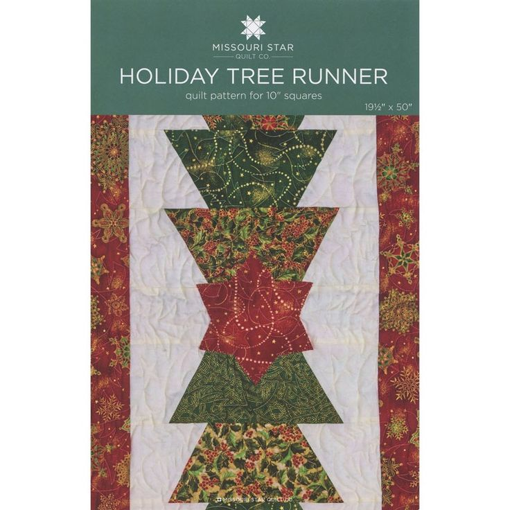 Christmas Tree Table Runner Quilt Pattern: 1000+ Images About Projects To Try On Pinterest