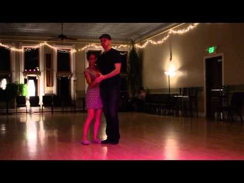 Cool East Coast Swing Moves - Learning a Routine of Moves - YouTube