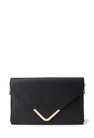Side-Zip Envelope Clutch | FOREVER21 - 1000101010