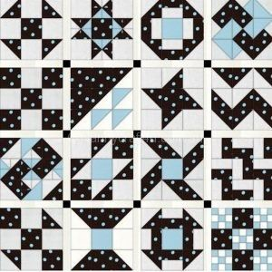 Complete the 9 Patch Sampler quilt top