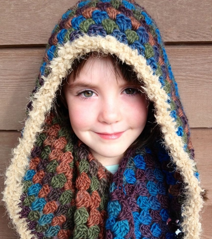 77 best Crochet~Scoodies images on Pinterest | Cowls, Fingerless ...