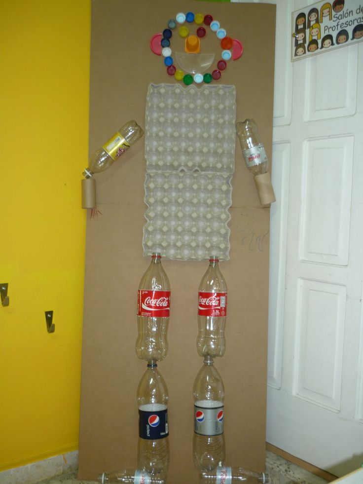 Recycled Mat Man