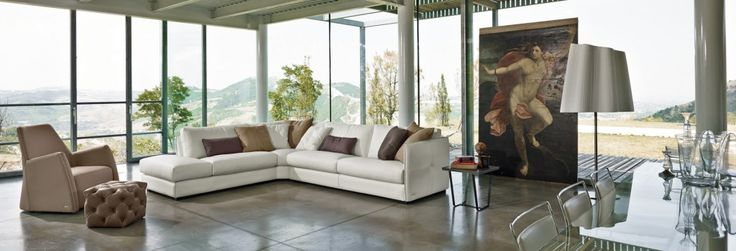 Modern yet elegant; The Alfred Sofa looks stunning in any space.