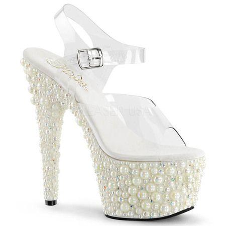 L00JZT1G Women Clear White Frost STARDUST 708 2 Exquisite