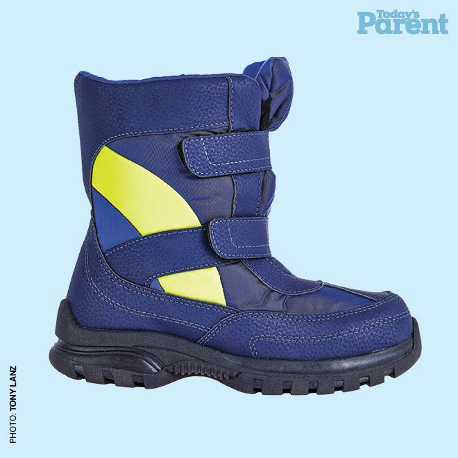 12 cozy winter boots for kids - Weather spirits boot, $15, walmart.ca #TodaysParent #KidsWinterBoots