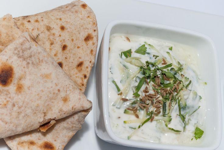 Try this Cucumber Raita for a delicious snack this Spring! http://gustotv.com/recipes/sauces/cucumber-raita/