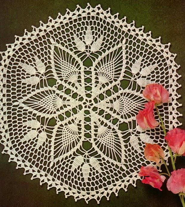 Crochet - Gorgeous Doily - Using Cotton Yarns
