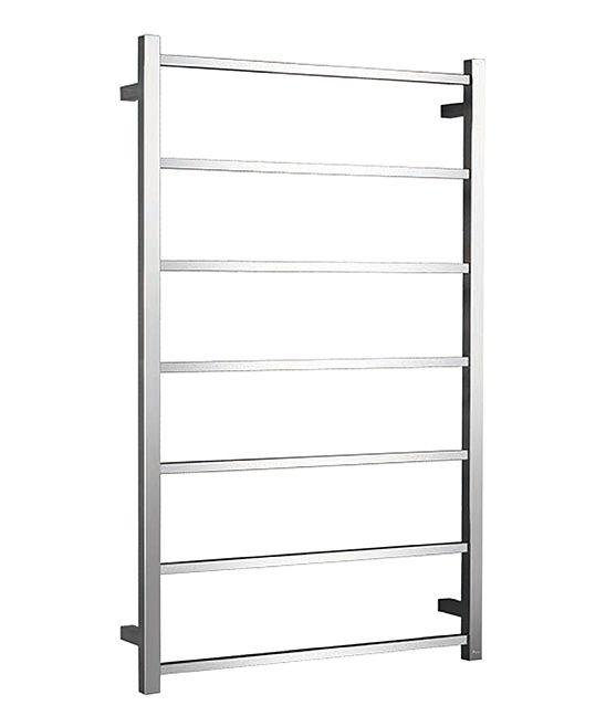 Stainless Steel Flat-Bar Towel Warmer Rack