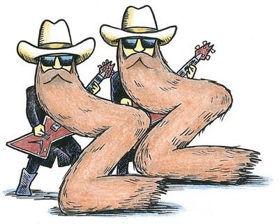 ZZ Top caricature. #music #musicians #zztop http://www.pinterest.com/TheHitman14/musician-in-picture-%2B/