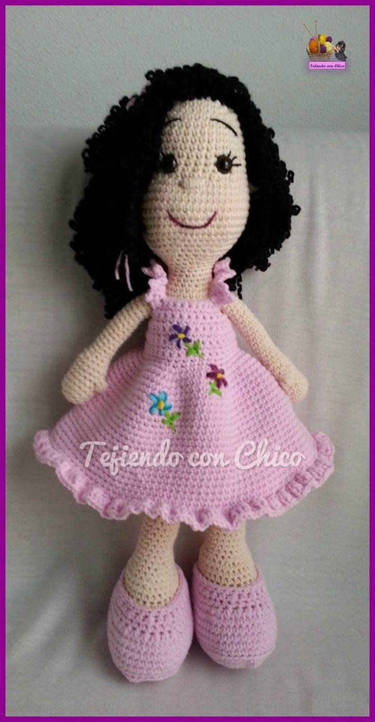 Tejiendo con Chico: Vestido para Muñeca 2