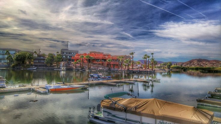 Fisherman's Landing, by Andrea Cote, boat, lake, Arizona, photography,