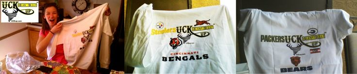 Real Fans Want to UCKup their Opponents and Root Against Rivals #Steelers #Bengals #Packers #Bears #SportsApparel