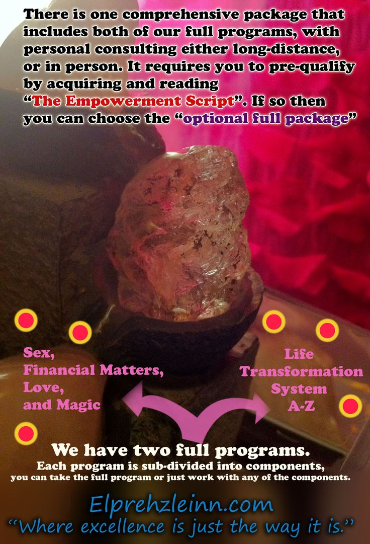 An image map of our programs. Enjoy transforming your life with ease.