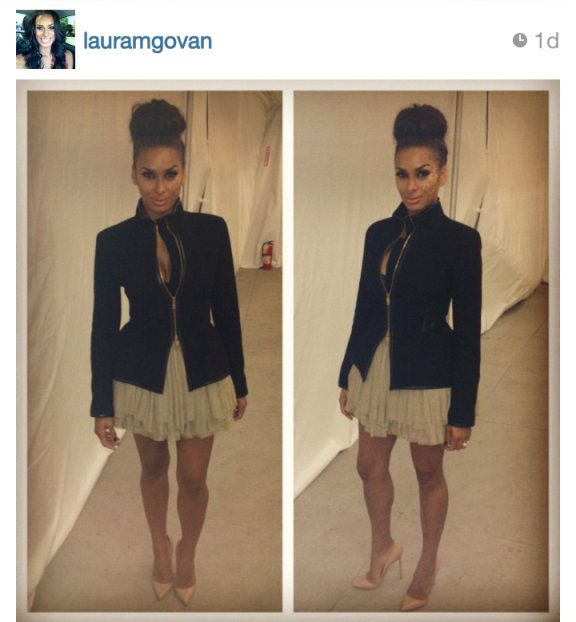 Laura Govan (From Basketball Wives LA) at NY Fashion Week
