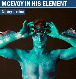 Special Effects Body Painting for Olympic Swimmer Cameron McEvoy