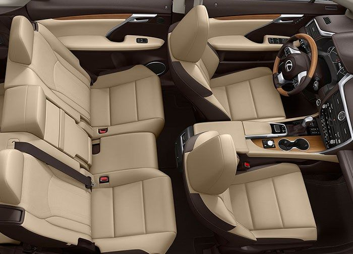 2019 lexus rx 350 interior design