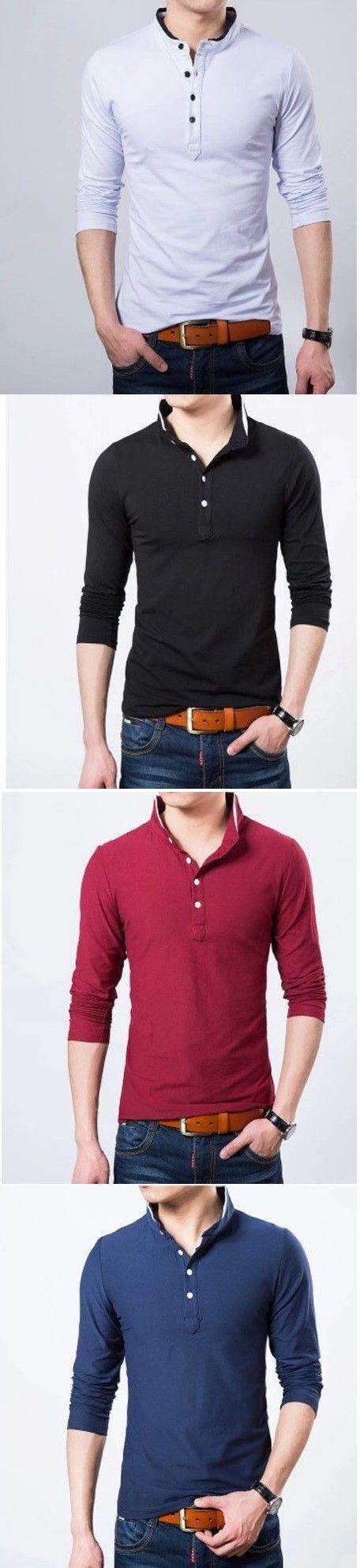 ¿Qué color es su preferido de estas #camisas estilo #polo? Encuentra tu preferida en nuestro sitio.