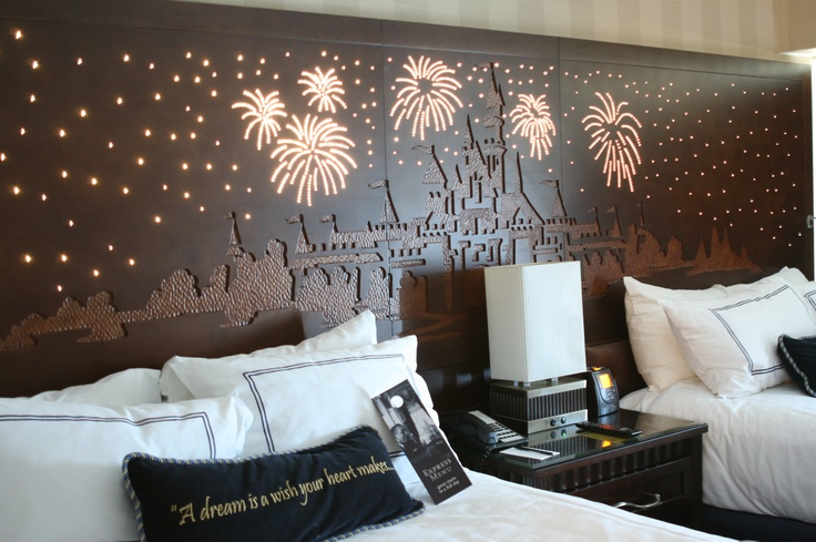 Refurbished Disneyland Hotel Rooms.