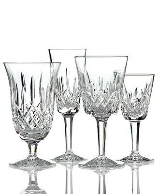 Waterford Stemware, Lismore Collection - Waterford Crystal Stemware - Dining & Entertaining - Macy's